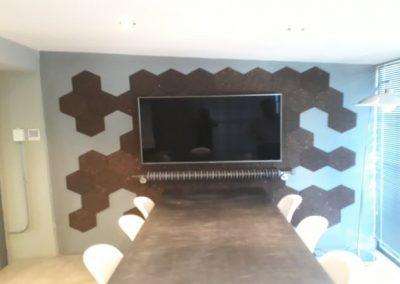 interior design using cork