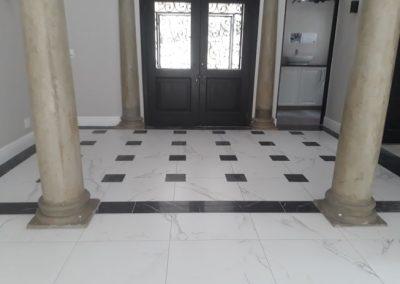 Various Tiling for Residence in Bryanston