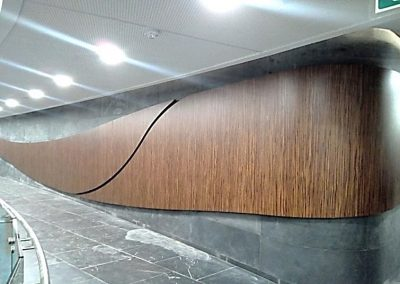 Discovery Head Office, Reatec Vinyl to Wall Cladding